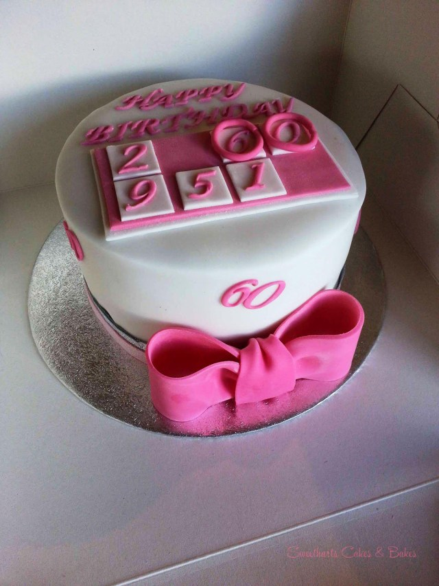 Birthday Cakes For Women 60th Protoblogr Design