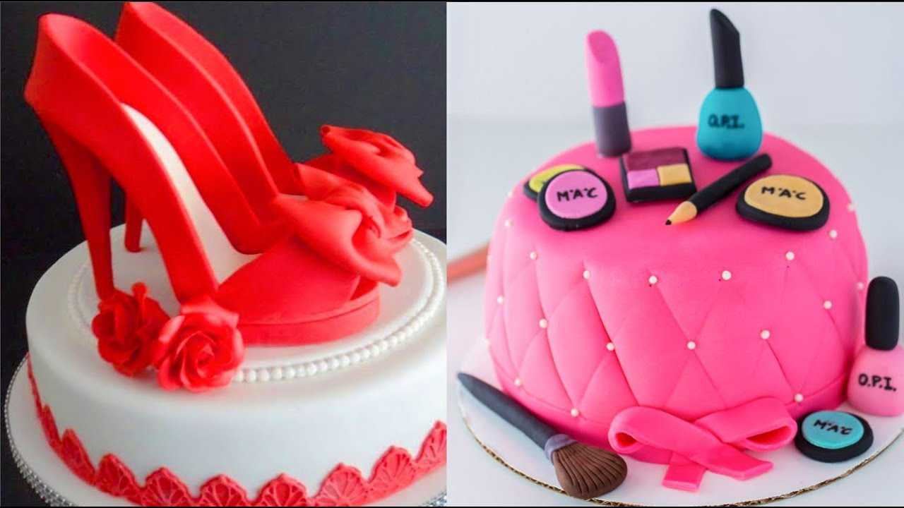 32 Marvelous Picture Of Birthday Cakes For Women