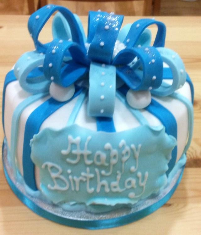 Blue Birthday Cake Blue Birthday Cakes