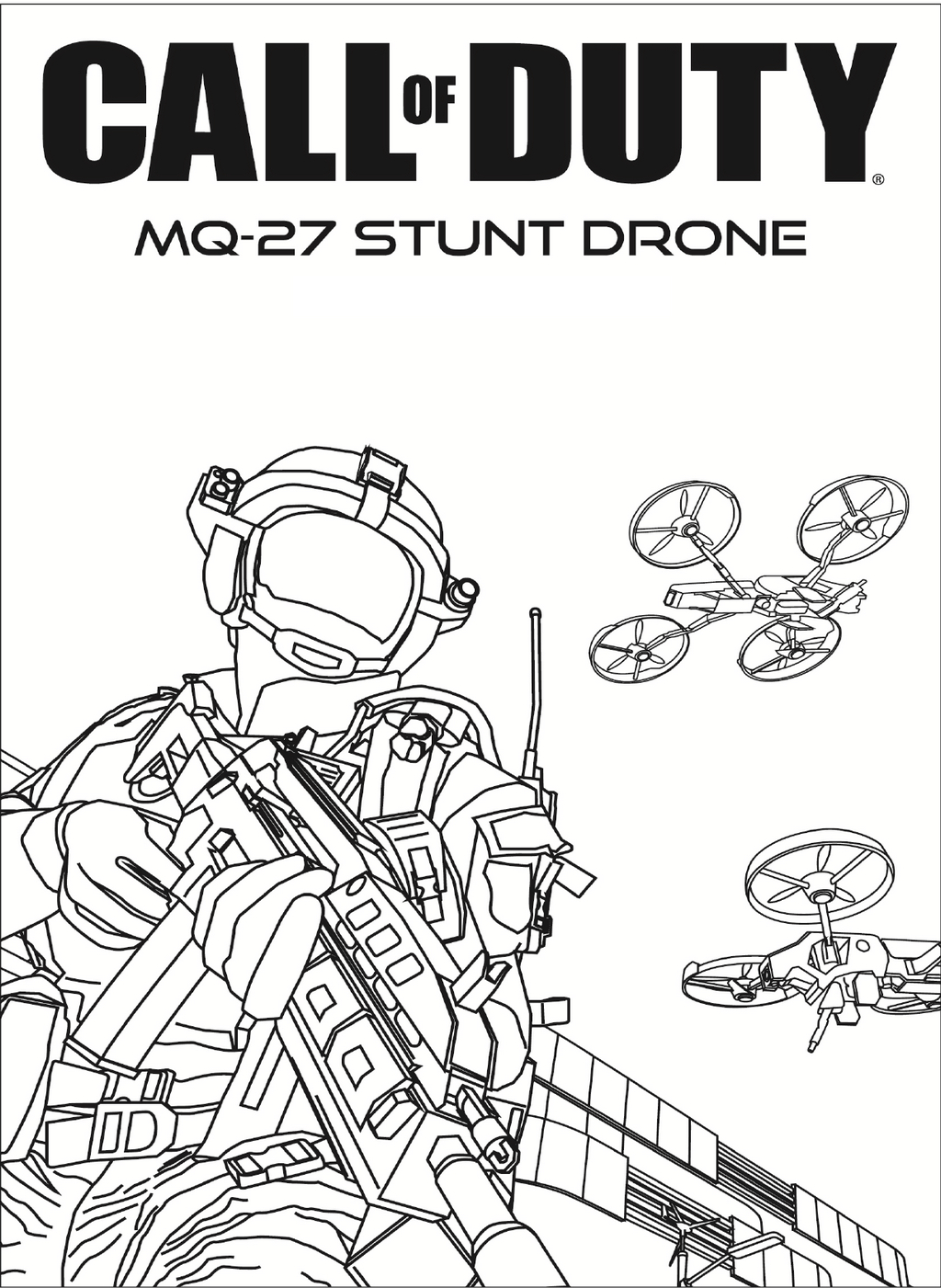 27+ Inspiration Photo of Call Of Duty Coloring Pages