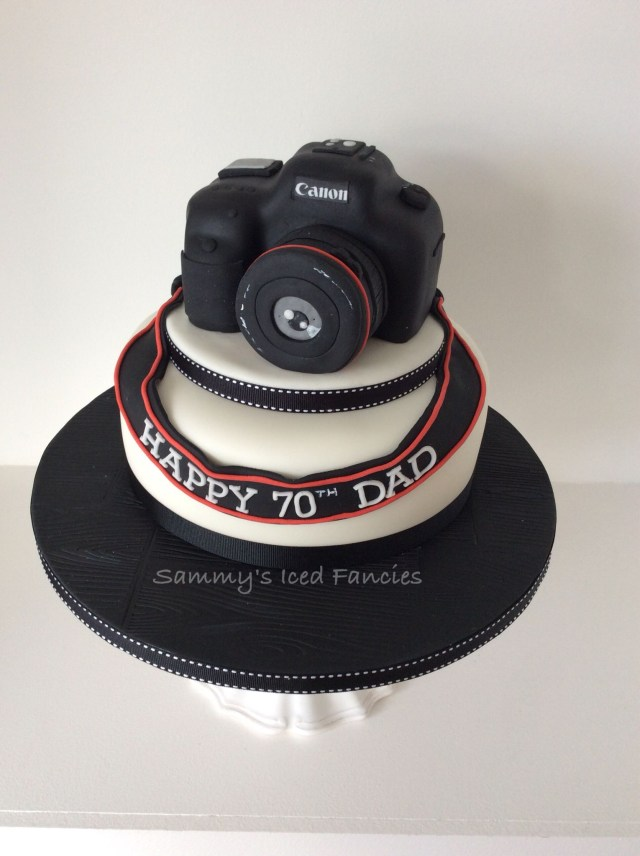 Camera Birthday Cake Camera 70th Birthday Cake Birthday Cakes Pinterest Cake