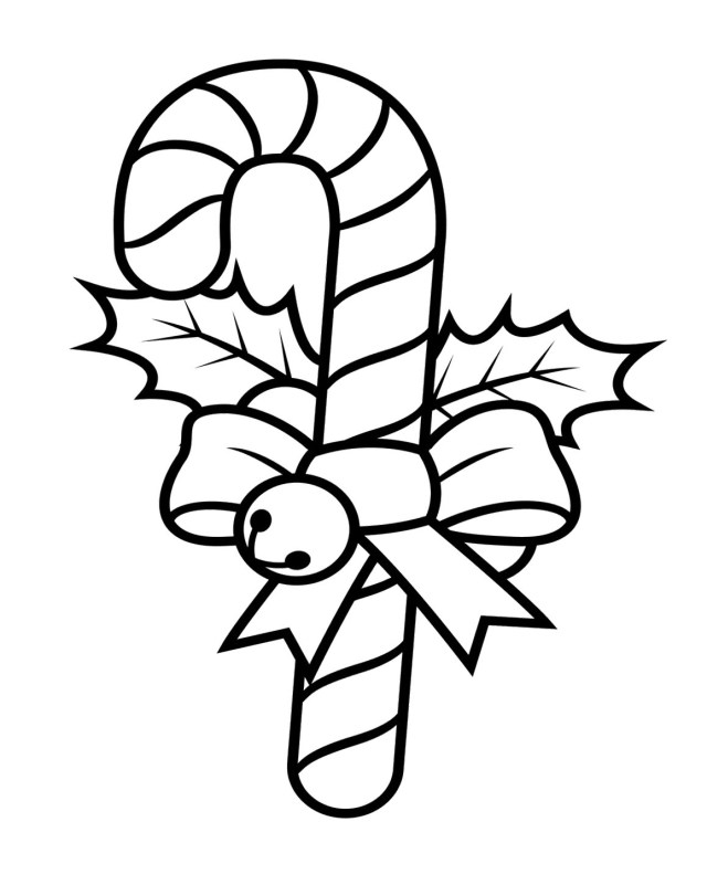 Candy Cane Coloring Page Candy Cane Printable Coloring Pages At Getdrawings Free For
