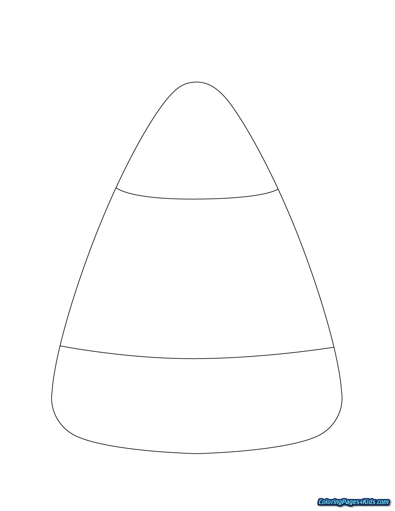 27+ Inspired Picture of Candy Corn Coloring Page ...