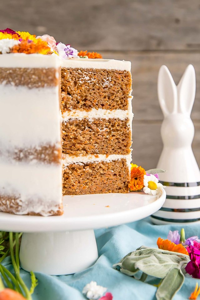 Carrot Cake Birthday Cake Carrot Cake With Cream Cheese Frosting Liv For Cake