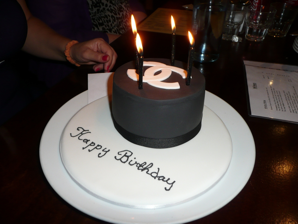 Chanel Birthday Cake Turning 40 With A