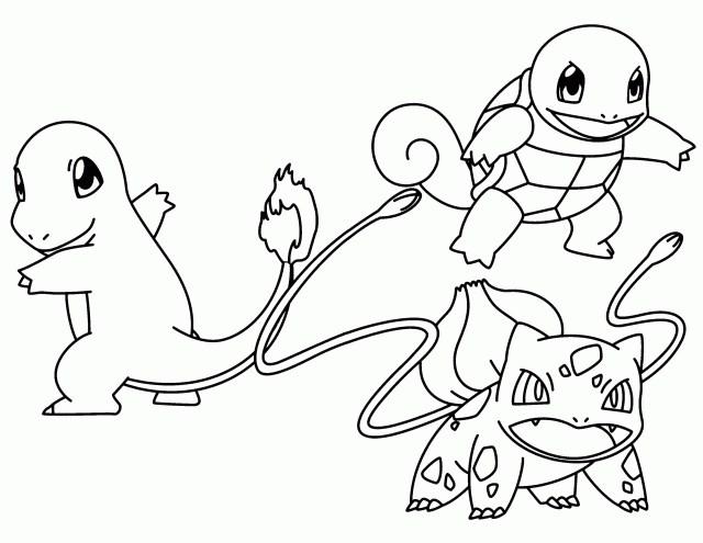 Charmander Coloring Page Pokemon Charmander Coloring Pages Kids Coloring Page