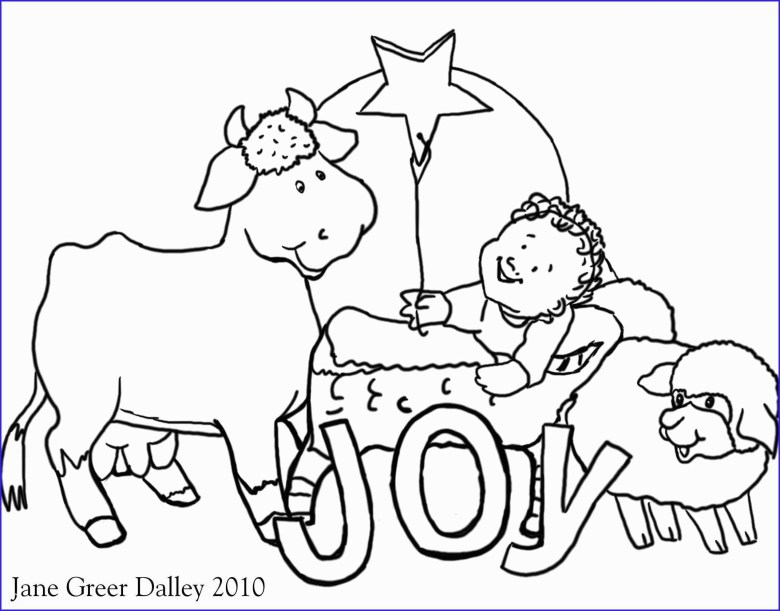 christmas coloring pages to print free childrens christian coloring
