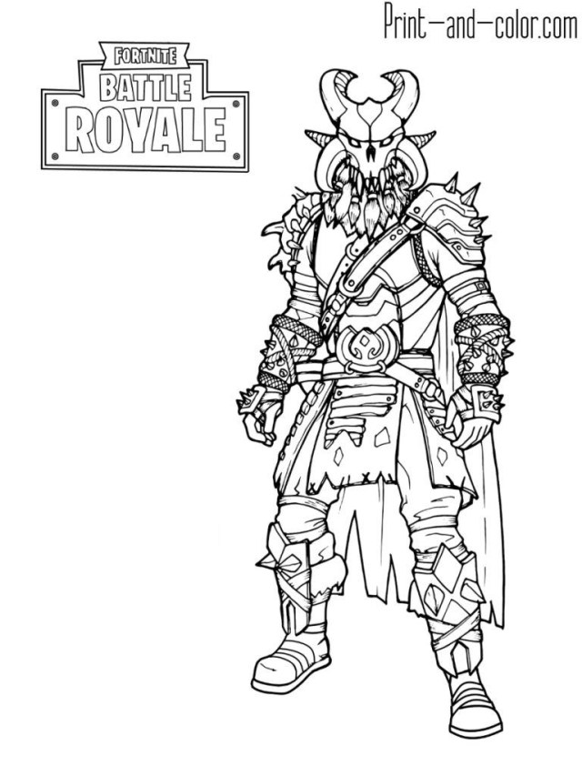 Coloring Pages To Print Best Fortnite Coloring Pages Black Knight Colin Bookman