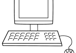 Computer Coloring Pages Computer Coloring Page Back To School