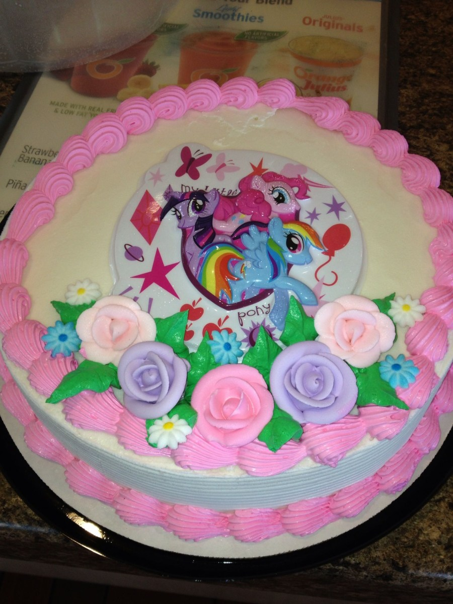 Dairy Queen Birthday Cakes Dq Cakesdairy My Little Pony Ice Cream Cake Pinterest