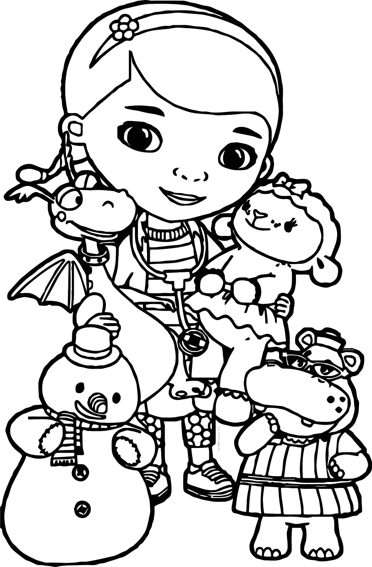Get Inspired For Doc Mcstuffins Coloring Pages Drawing 4 Fun