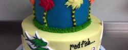 Dr Seuss Birthday Cakes Dr Seuss 1st Birthday Cake Yup Im A Pastry Chef Pinterest