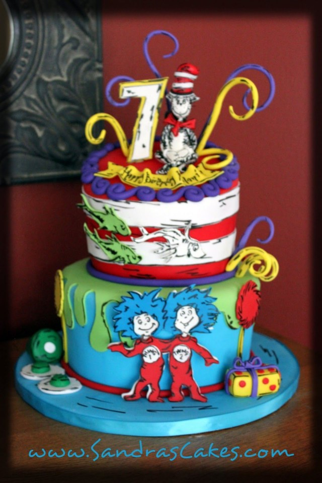 Dr Seuss Birthday Cakes Dr Seuss Cakes Google Search All Bout Party Ideasthemes Dr