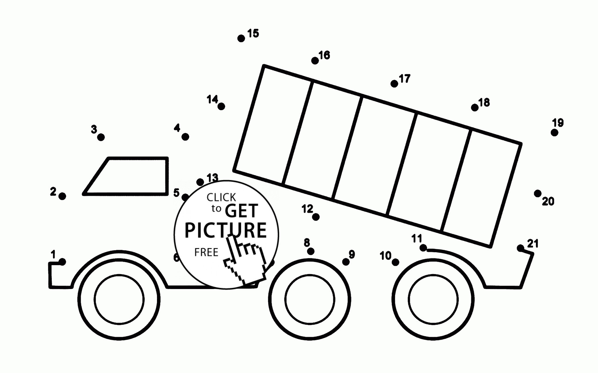 25 Inspiration Image Of Dump Truck Coloring Pages
