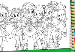 Equestria Girls Coloring Pages My Little Pony Equestria Girls Coloring Page Mlp Eg Colouring Book