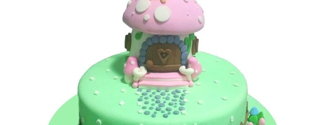 Fairy Birthday Cake Fairy House Birthday Cake