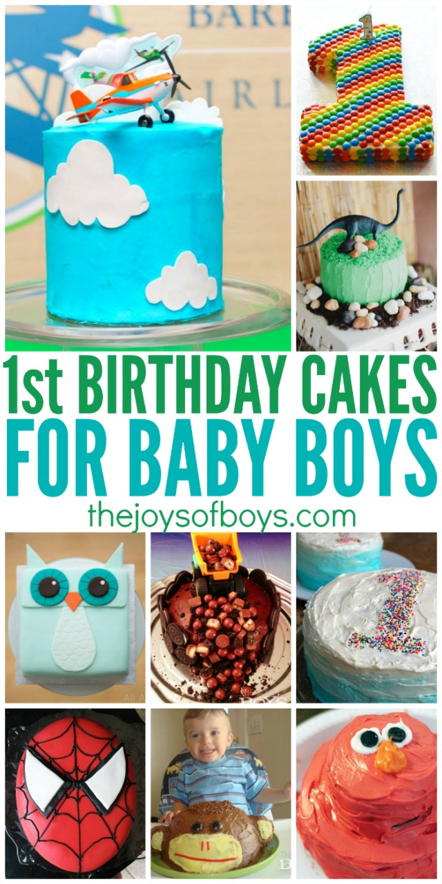 First Birthday Cake Ideas 25 First Birthday Cakes For Boys Perfect For 1st Birthday Party