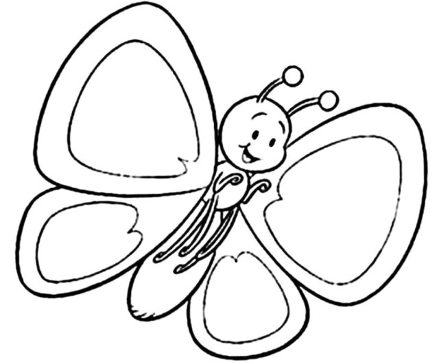 Free Butterfly Coloring Pages Coloring Pages Butterfly Coloring Pages Free Download Best For