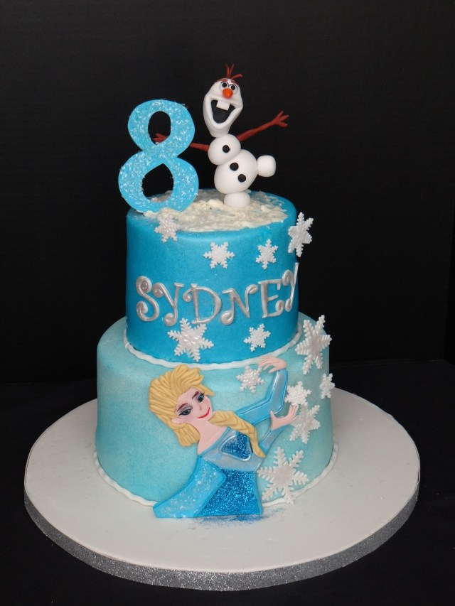 Frozen Themed Birthday Cake Frozen Theme Birthday Cake Cakecentral