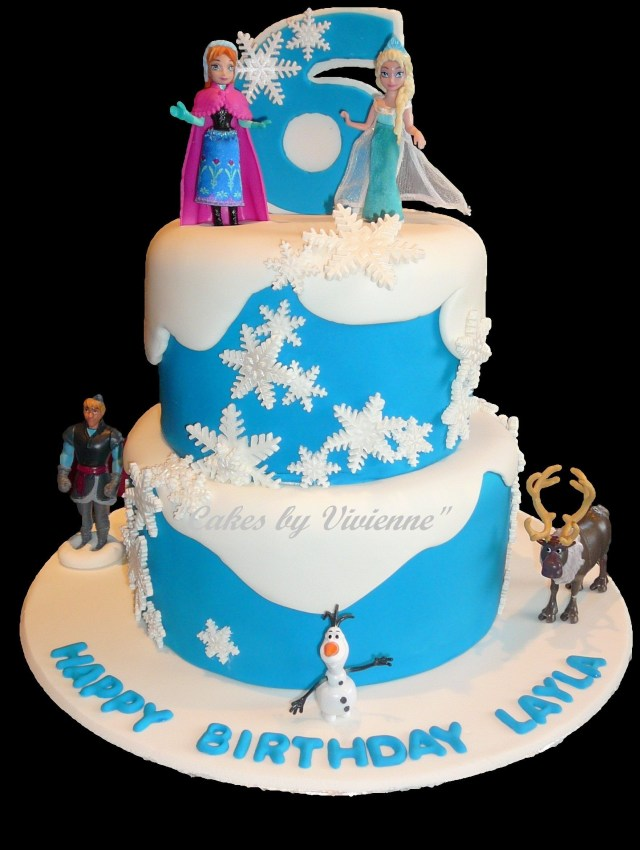Frozen Themed Birthday Cake Frozen Themed Birthday Cake For A 6 Year Old Cake Ideas Birthday
