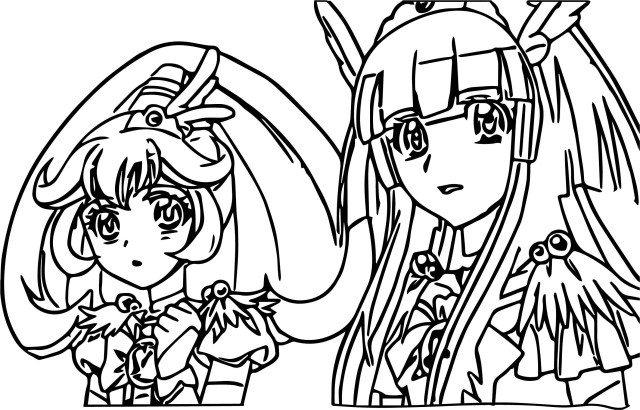 Glitter Force Coloring Pages Glitter Force Coloring Pages Printable Design Templates