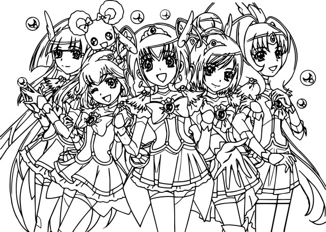27+ Pretty Image of Glitter Force Coloring Pages ...