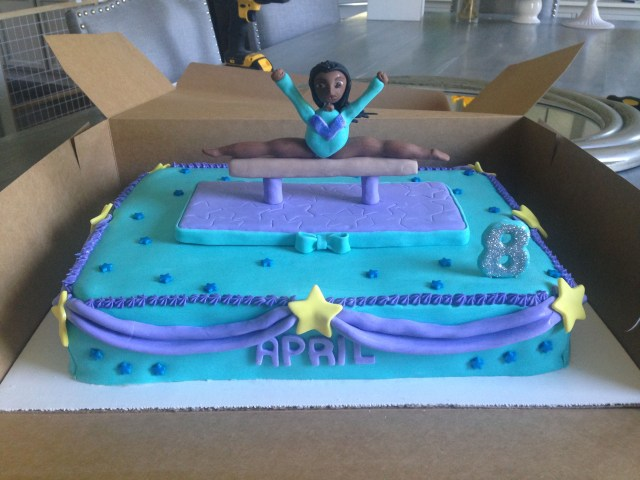 Gymnastics Birthday Cake Gymnastics Birthday Cake Sweetest Things In Cincy Sweetest