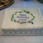 Happy Birthday Carol Cake Carol Cypher