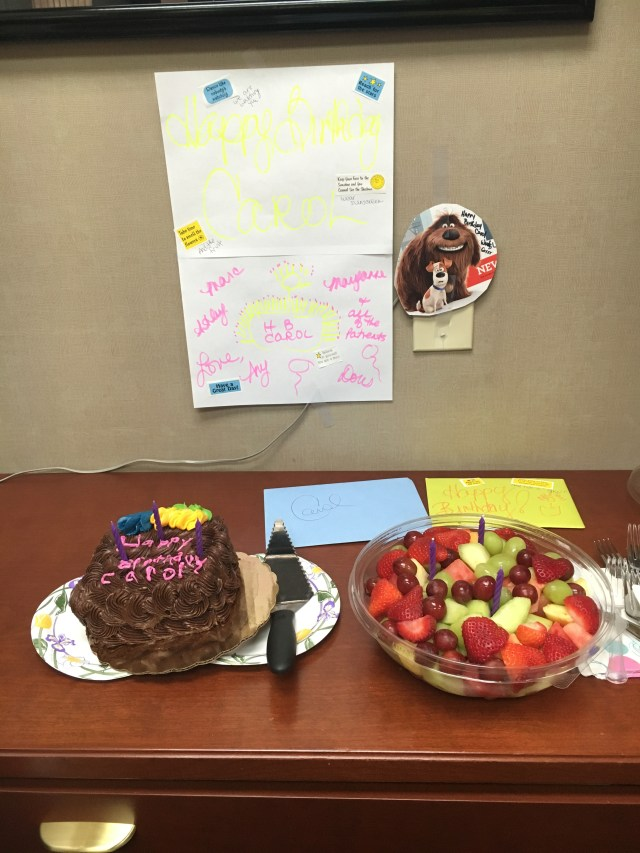 Happy Birthday Carol Cake Happy Birthday Carol Dr Marc W Herman