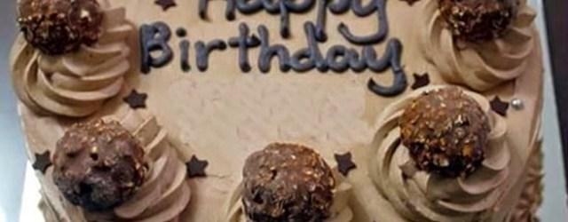Happy Birthday Chocolate Cake Pin Joan Blevins On Birthday Cakes Pinterest Birthday Cake