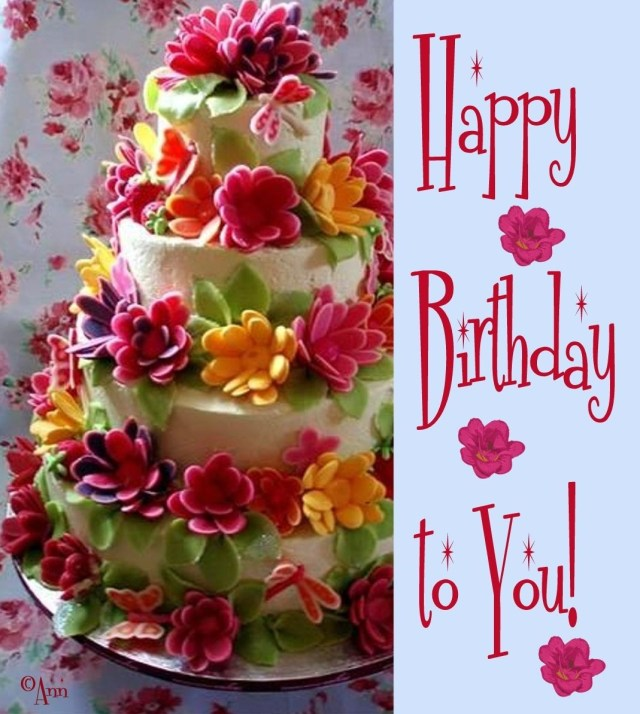 Happy Birthday Flowers And Cake 23 Delectable Floral Cakes Pinterest Cumpleaos