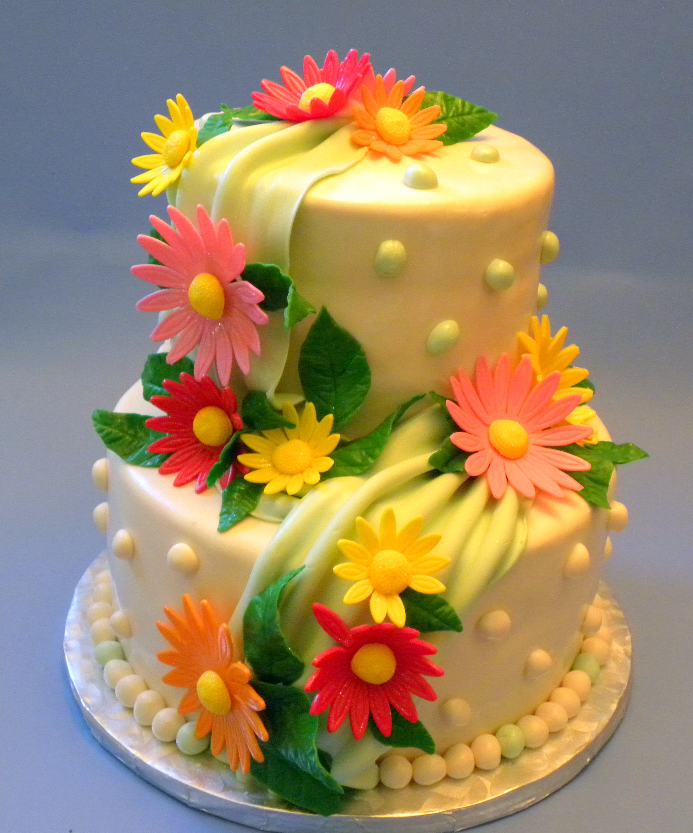 Happy Birthday Flowers And Cake Flower Cakes Decoration Ideas Little