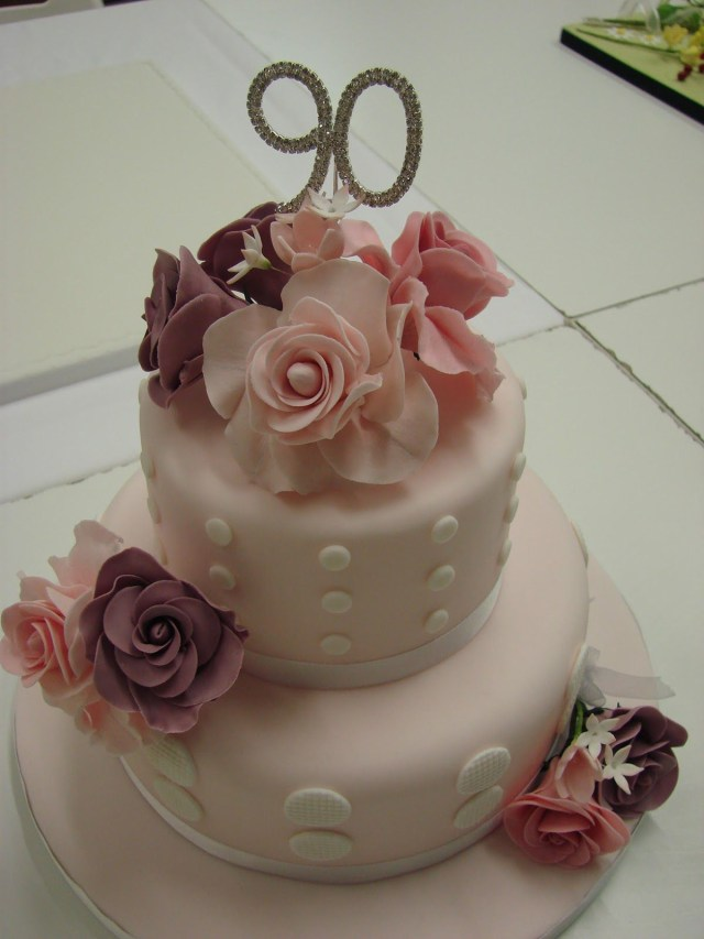 Happy Birthday Gloria Cake 90th Birthday Cakes 90th Birthday Cake Gloria Pinterest 90