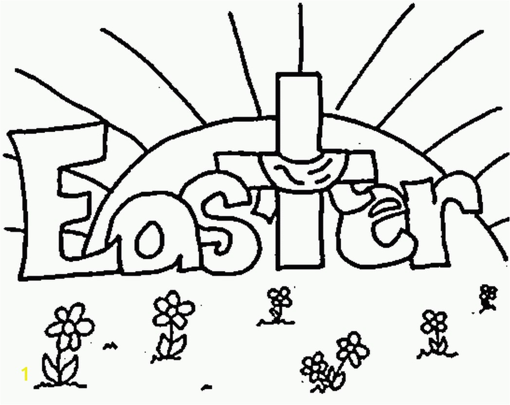 Happy Easter Coloring Pages Happy Easter Signs Coloring Pages Free ...
