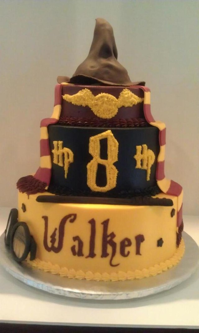 Harry Potter Birthday Cakes Harry Potter Birthday Cake Cakecentral