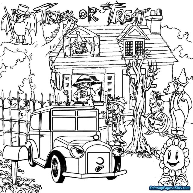 25+ Awesome Image of Haunted House Coloring Pages ...