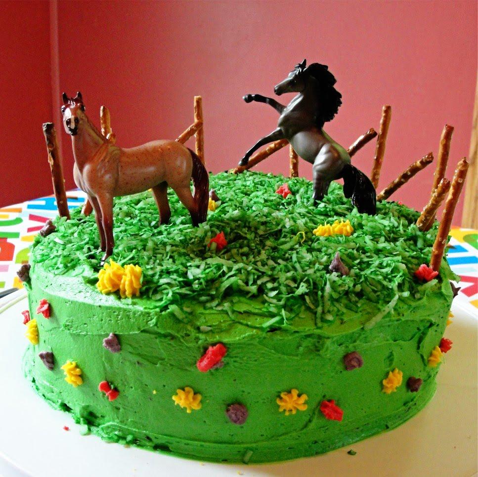 Horse Birthday Cakes 6 Toy Photo Breyer Cake And Pony