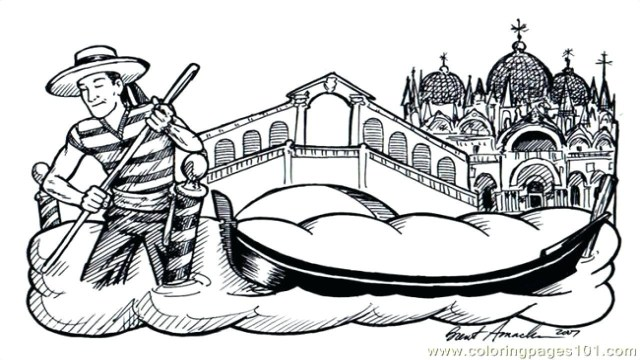 Italy Coloring Pages Survival Italy Coloring Pages Italian 6 Flag Page Venice Italy