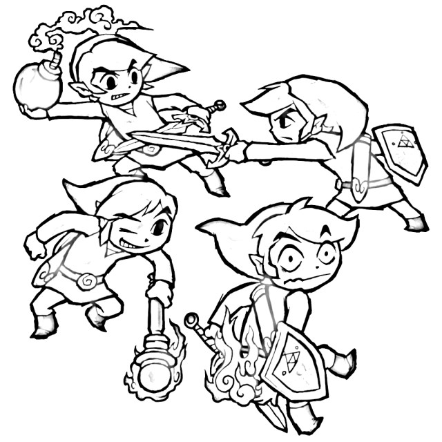 27+ Wonderful Photo of Legend Of Zelda Coloring Pages ...