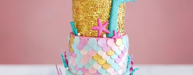 Mermaid Birthday Cake Little Mermaid Birthday Cake