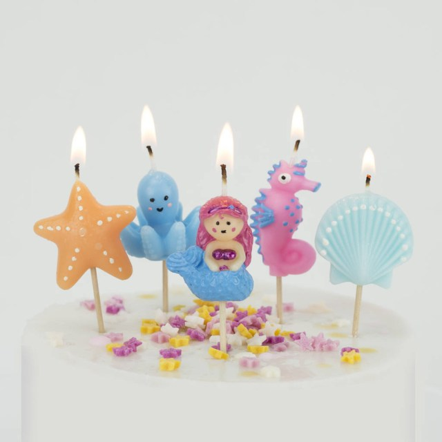 Mermaid Birthday Cake Mermaid Candles Birthday Cake Under The Sea We Love To Create