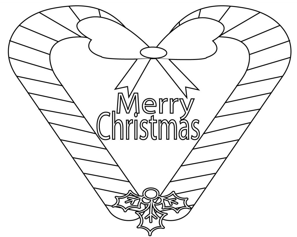 21 Creative Photo Of Merry Christmas Coloring Pages