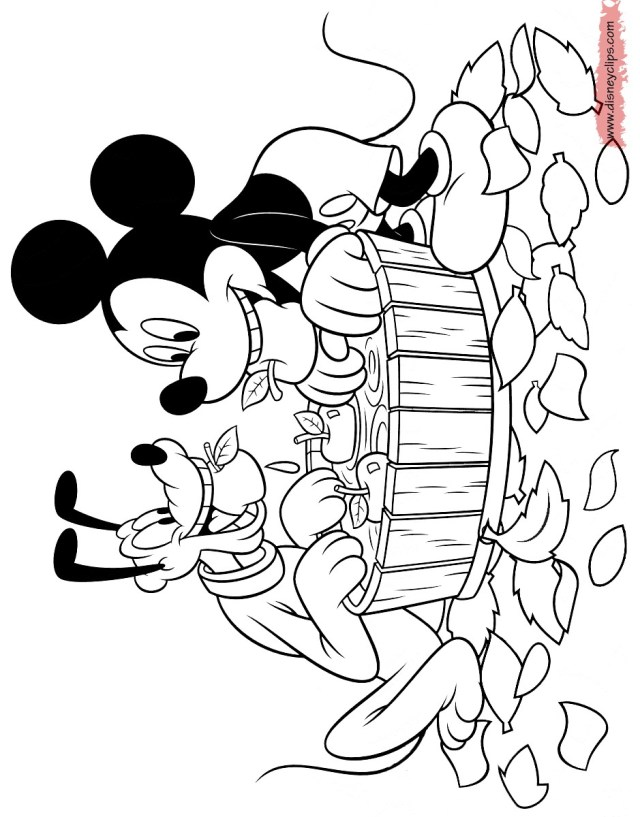 Mickey Coloring Pages Mickey Color Pages Ironenclave