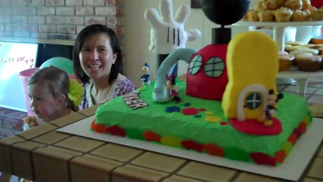 Mickey Mouse Clubhouse Birthday Cake Mickey Mouse Clubhouse Birthday Cake Youtube