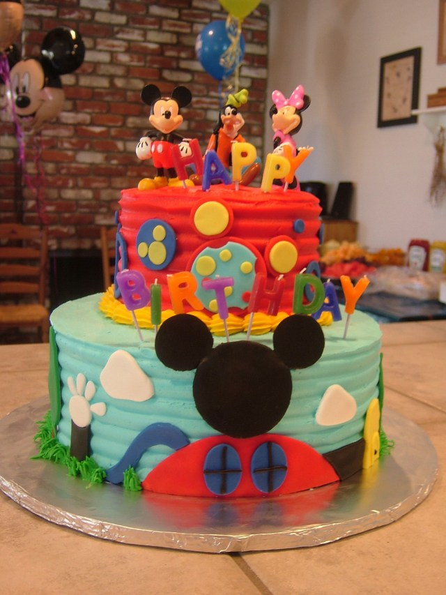 Mickey Mouse Clubhouse Birthday Cake Mickey Mouse Clubhouse Cake Amber Channell I Need You To Learn How
