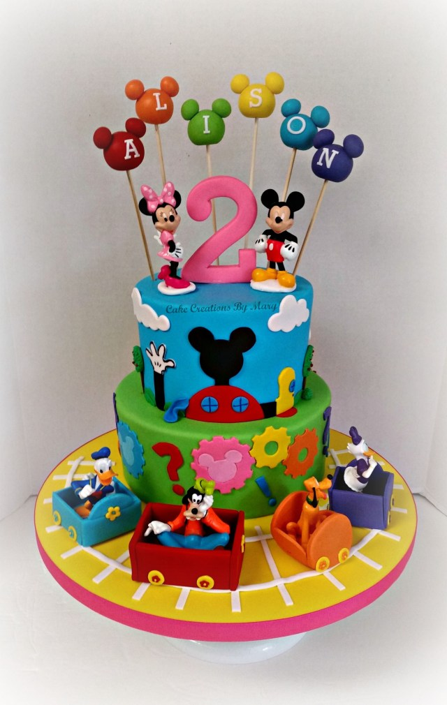 Mickey Mouse Clubhouse Birthday Cake Mickey Mouse Clubhouse Cake Party Micke