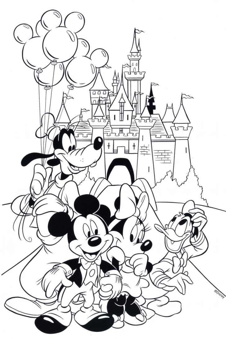 Mickey Mouse Clubhouse Coloring Pages Disney Mickey Mouse Clubhouse ...