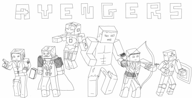 Mine Craft Coloring Pages Minecraft Animal Coloring Pages Printable New Skin Inside Funnyhub