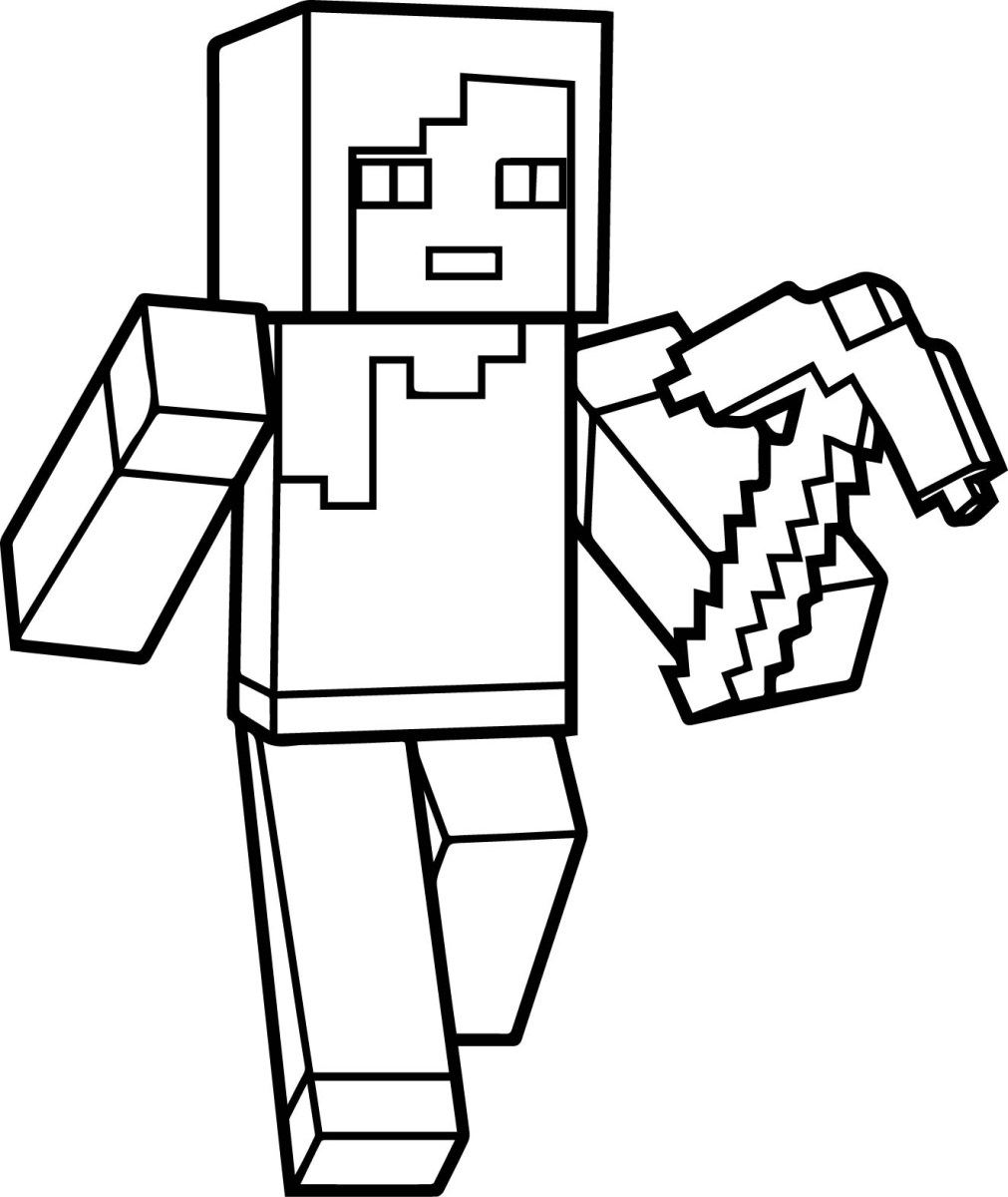 Mine Craft Coloring Pages Minecraft Coloring Sheet Starkhouseofstraussco