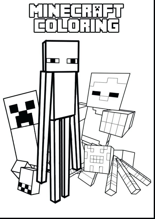 Mine Craft Coloring Pages Minecraft Craft Coloring Pages Best Of Mine Creeper Printable Fresh